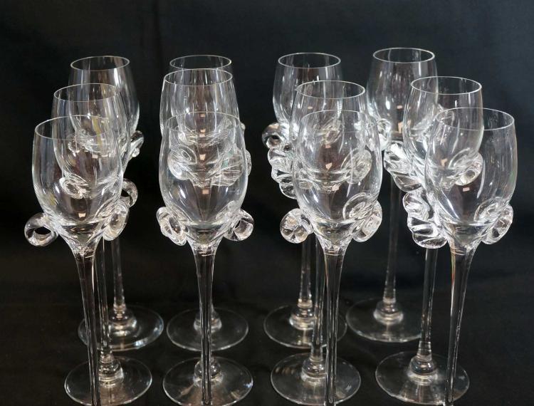 Zuber, Marie-Robin Paris Millefiori Wine Glasses