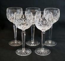 Waterford Lismore Crystal Wine Hocks (5)