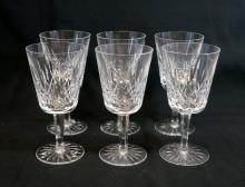 Waterford Lismore Claret Wine Glasses (6)
