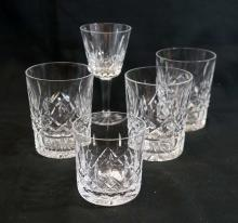 Waterford Lismore Assorted Stemware (5) Pieces