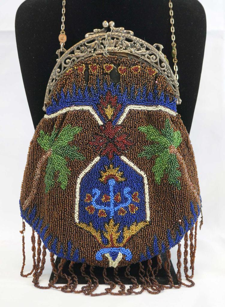 Large Beaded Evening Bag