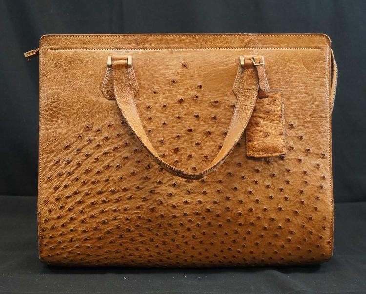 Gucci Ostrich Bag