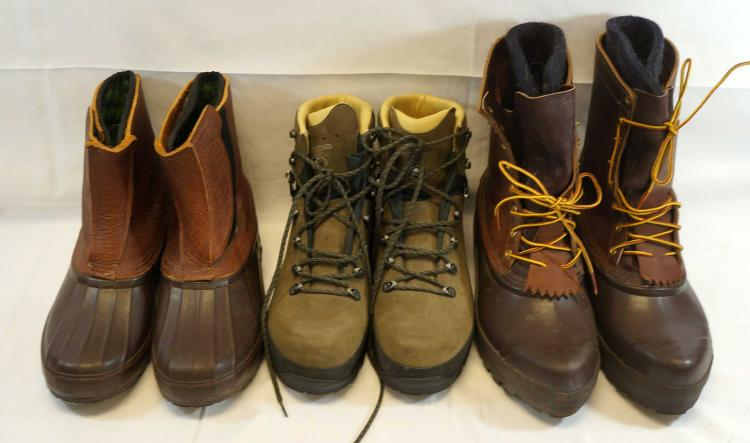 Schnee's and Lowa Boots, Unworn Men's Size 13 US