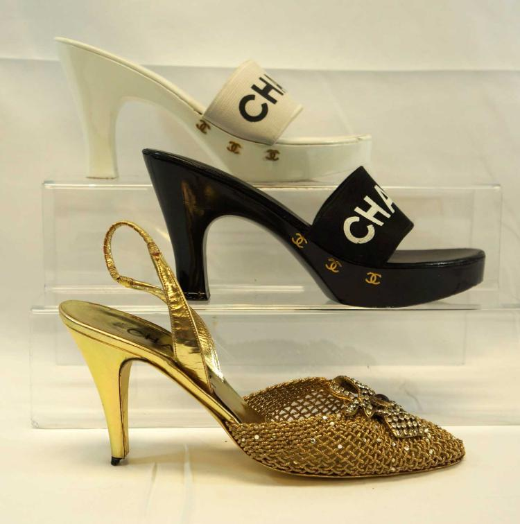 Chanel, Three Pairs of Lady's Shoes