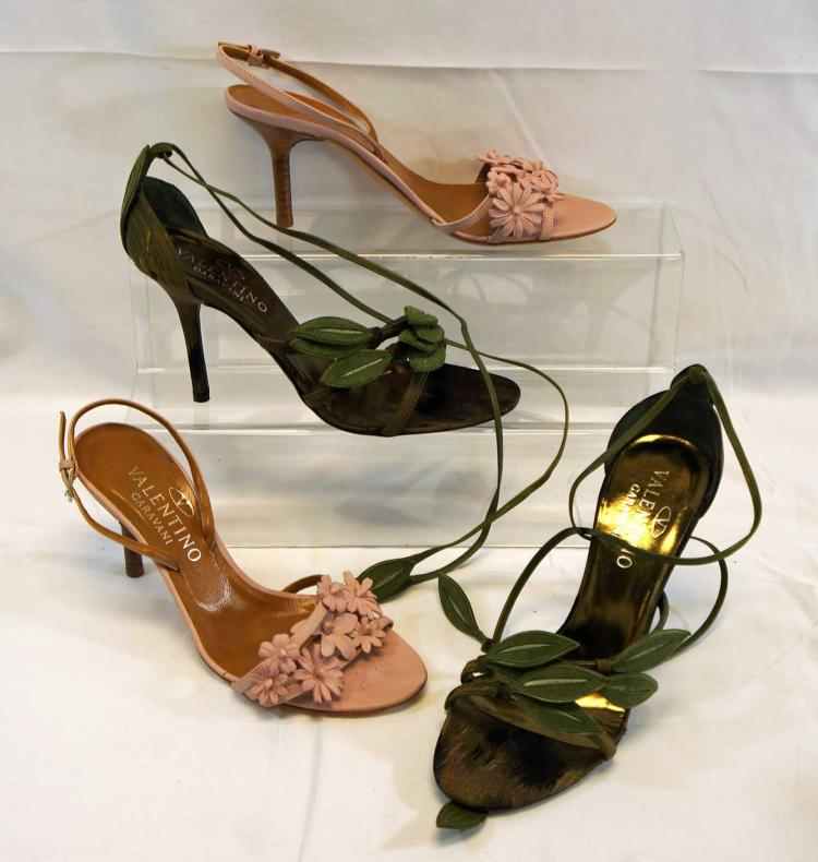 Valentino Garavani, Two Pairs of Lady's Shoes