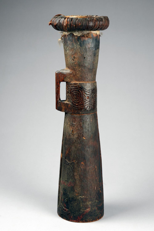 Hand drum - Papua New Guinea - Lake Sentani