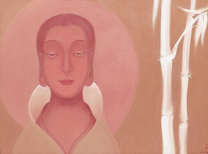 LI SHUANG  (b.1957) -  Peace