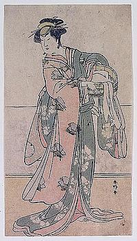SHUNKÔ, KATSUKAWA (1743-1812), Kabuki-Schauspieler
