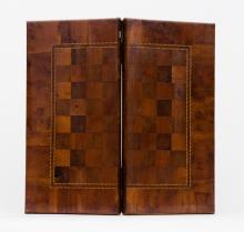 English Game Board Box, 19th Century