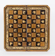 Chinese (Canton/Guangzhou) Games Board, Early 19th Century