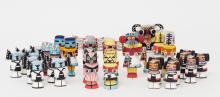 Kachina Dolls Hopi Chess Set, Second Half of the 20th Century