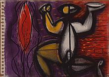 Philippe Dodard (Haitian/Port-au-Prince, b.1954) Offrande, c. 2012