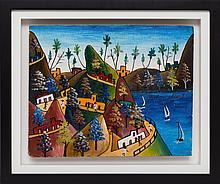 Préfète Duffaut (Haitian/Jacmel, 1923-2012), Jacmel Mountains, c. early 1960's