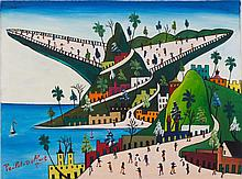 Préfète Duffaut (Haitian/Jacmel, 1923-2012), Imaginary Mountain, c. early 1960's