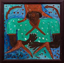 Gerard (Fortune) (Haitian/Petionville, b. 1933), Figure in Green