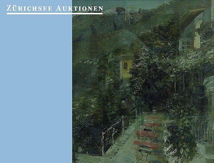 Lüthy, Oscar. (1882 Bern - Zurich 1945). Landscape