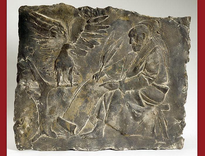 Brem, Rolf, (*1926 Luzern). Relief. Bronze. St.