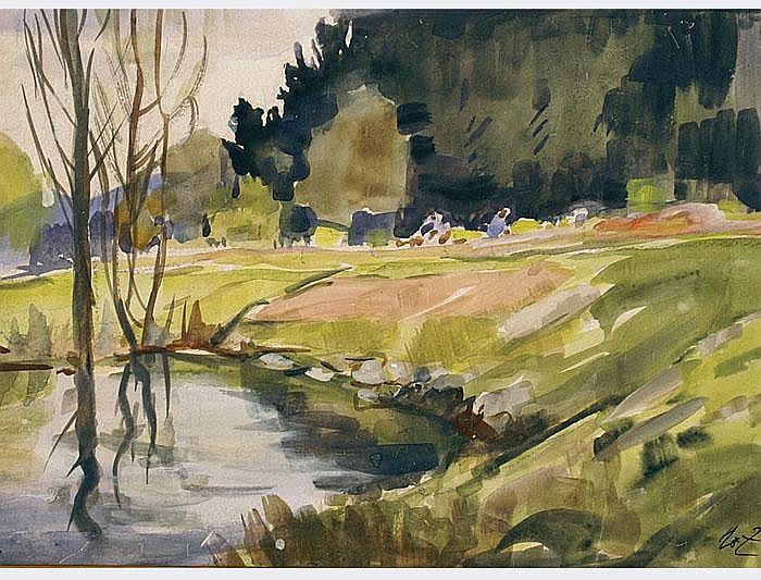 Zürcher, Hans, (1880 Menzingen - Lucerne, 1958).