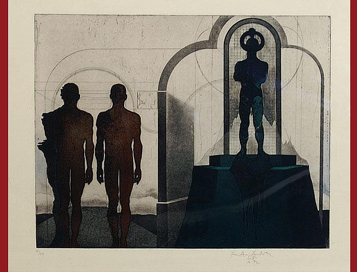 Wyss, Franz Anatol, (*1940 Fulenbach/SO). Green
