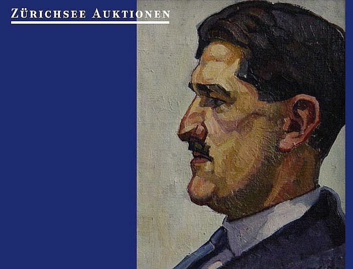 Darel, Georges, (1892 Genf 1943). Portrait de J.B.