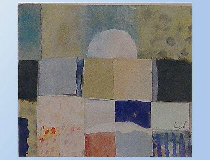 Egli, Hans (*1928 Grüningen). Weisse Kuppel.