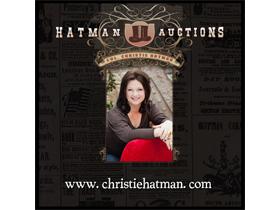 Col. Christie Hatman, Auctioneer